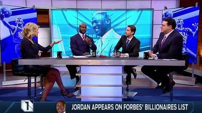 News video: Michael Jordan Joins the Forbes' Billionaires List
